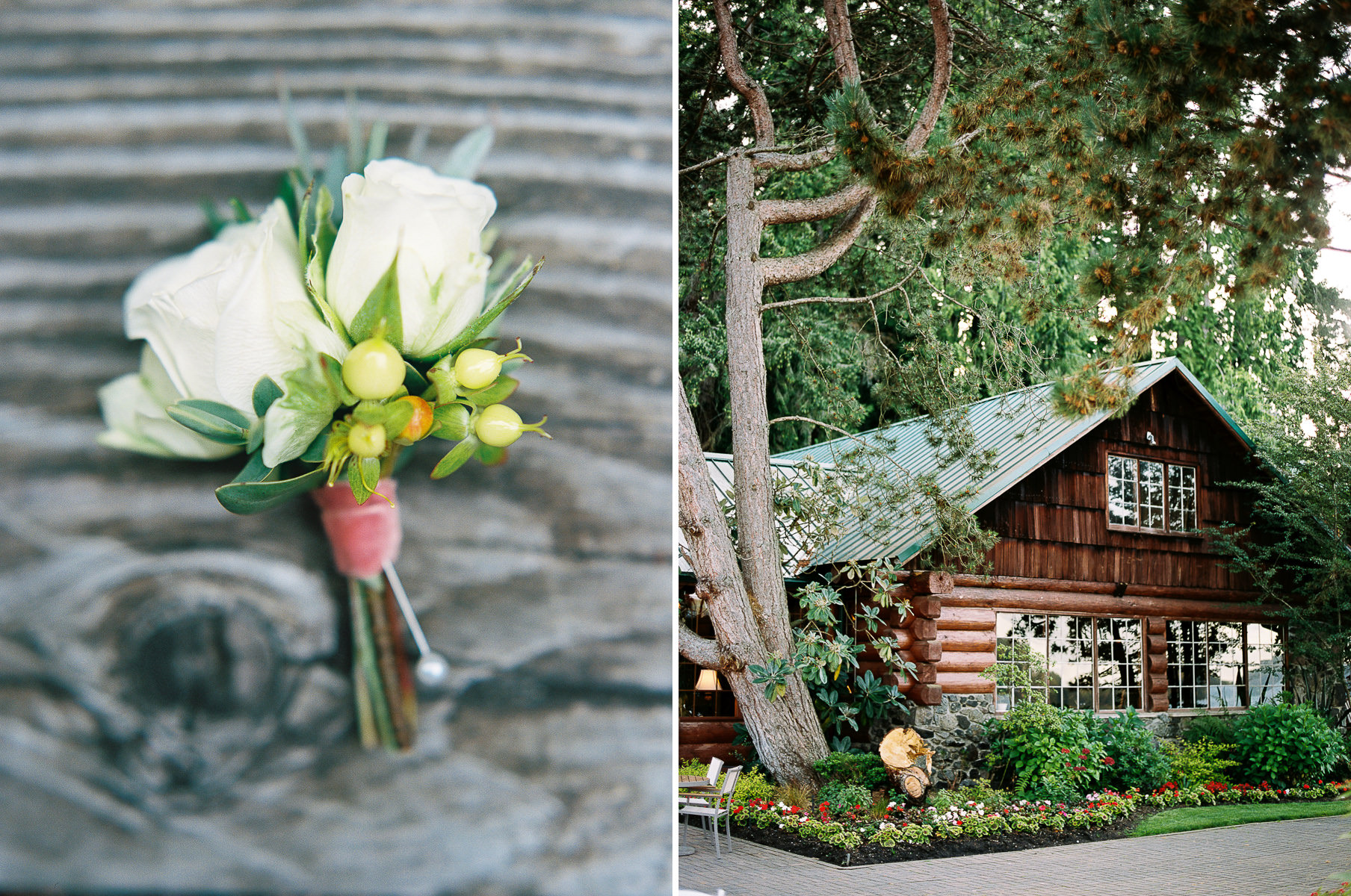Elegant wedding details at Kiana Lodge captured by top Seattle Wedding Photographer Anna Peters