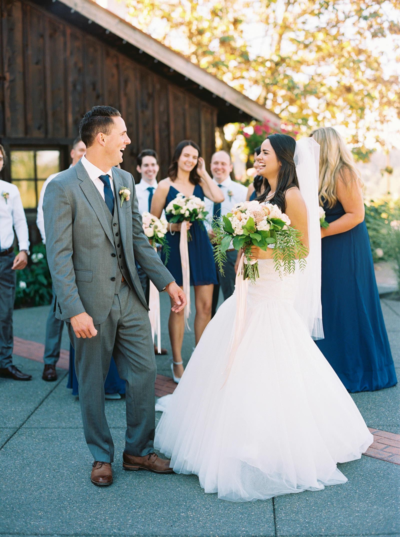 Elegant Bridal Party at Kelley Farms Wedding   Seattle Wedding Photographer Anna Peters