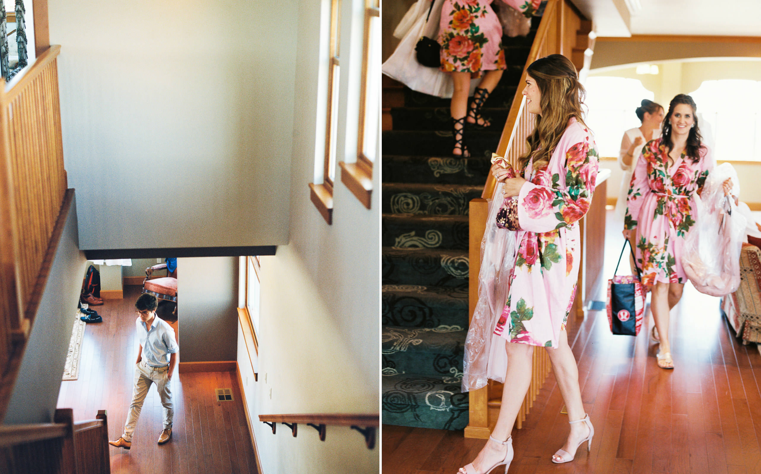 Getting ready at an Arbor Crest Winery Wedding, by Anna Peters