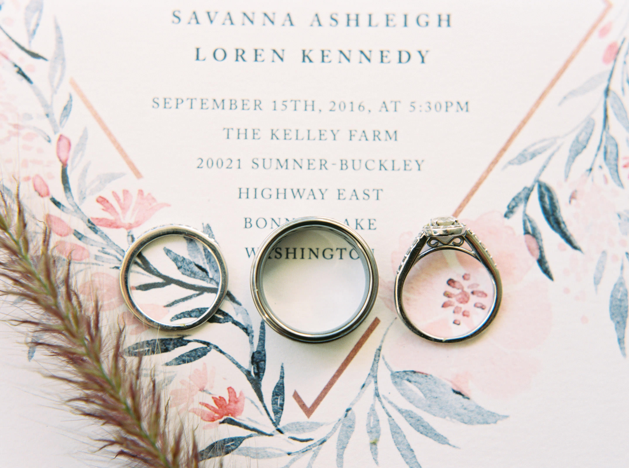 Wedding Details at Kelley Farms   Seattle Wedding Photographer Anna Peters