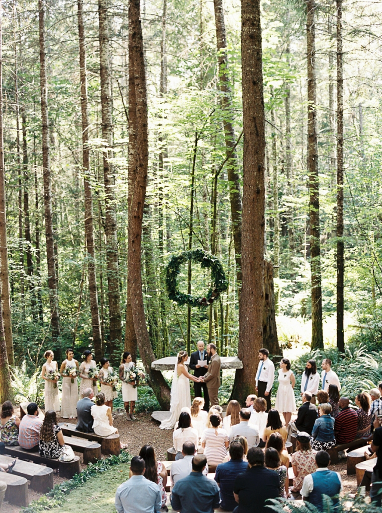 A Few Forest Wedding Venues In Washington