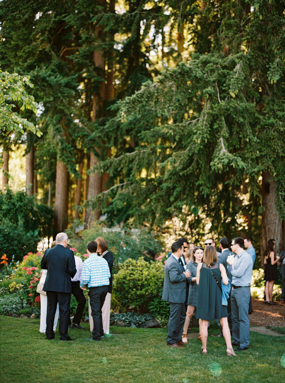 Forest Wedding Venues in Washington by Seattle Wedding Photographer Anna Peters