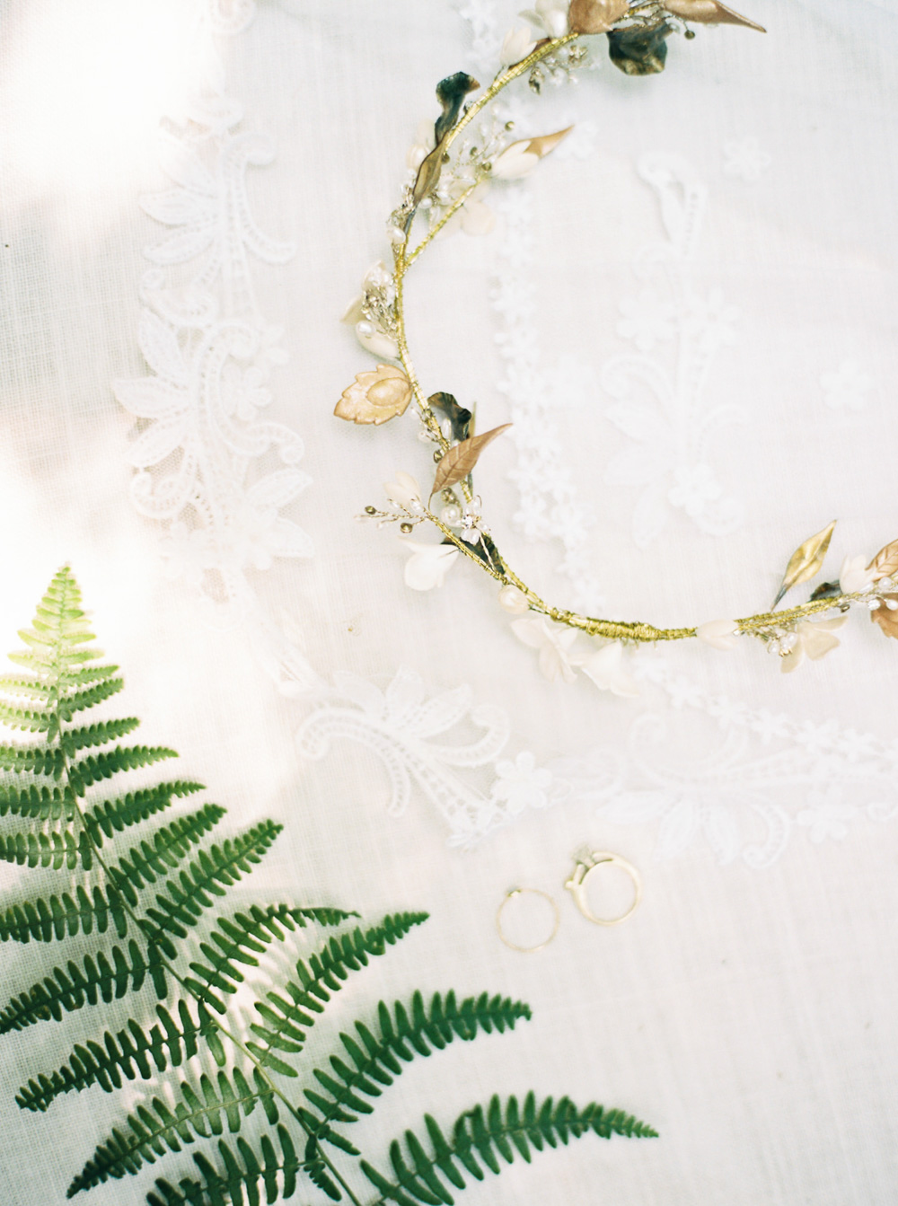 Bridal Details at Wellspring Spa Wedding at Mt. Rainier with Seattle Wedding Photographer Anna Peters