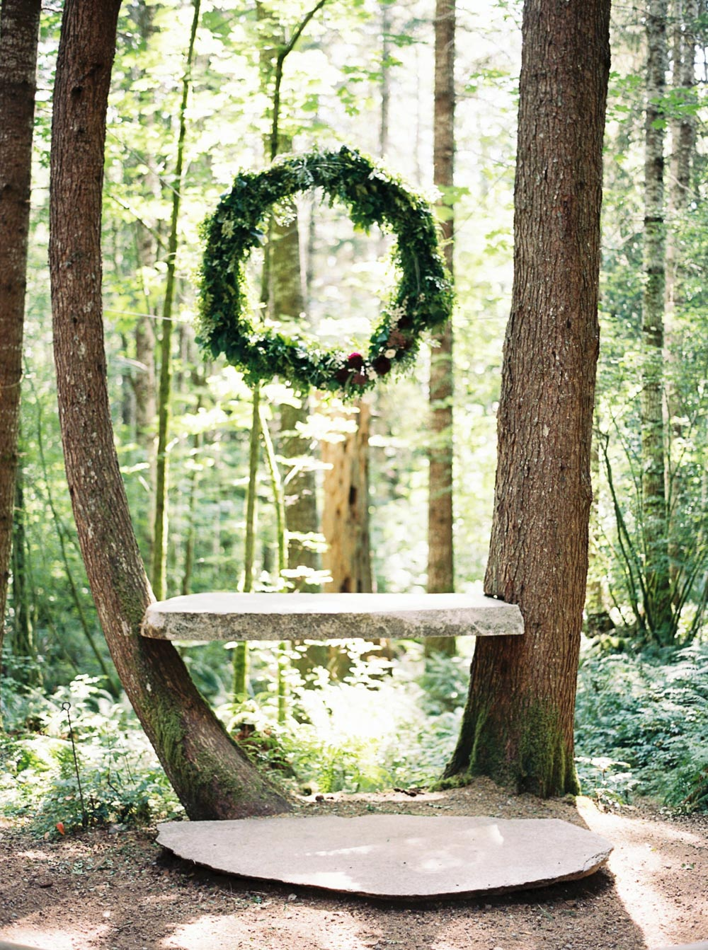 Wellspring Spa Outdoor Wedding Venue near Seattle