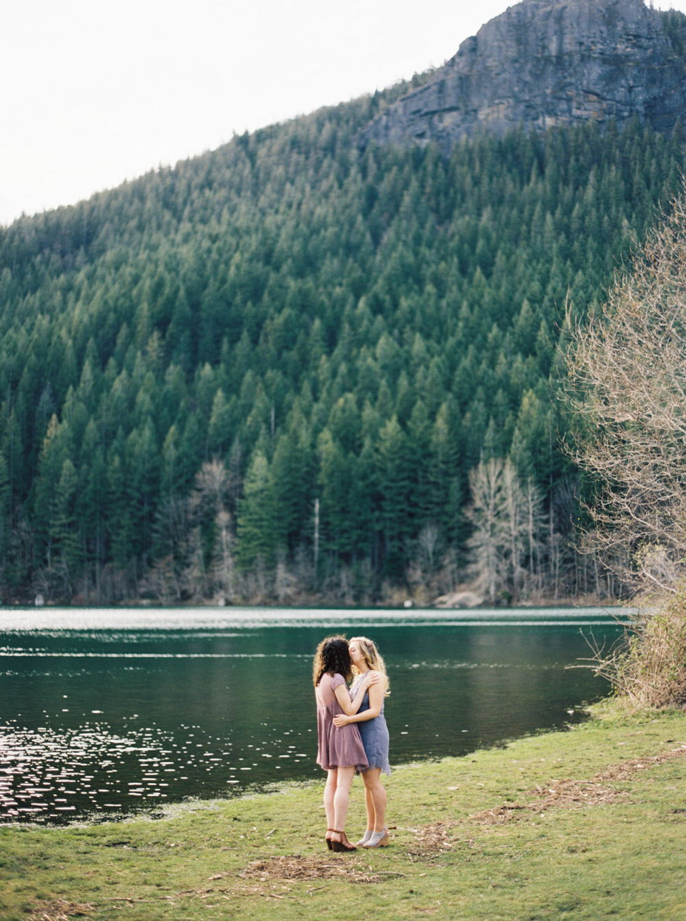Rattlesnake ridge Engagement Session | Anna Peters, Seattle Wedding Photographer