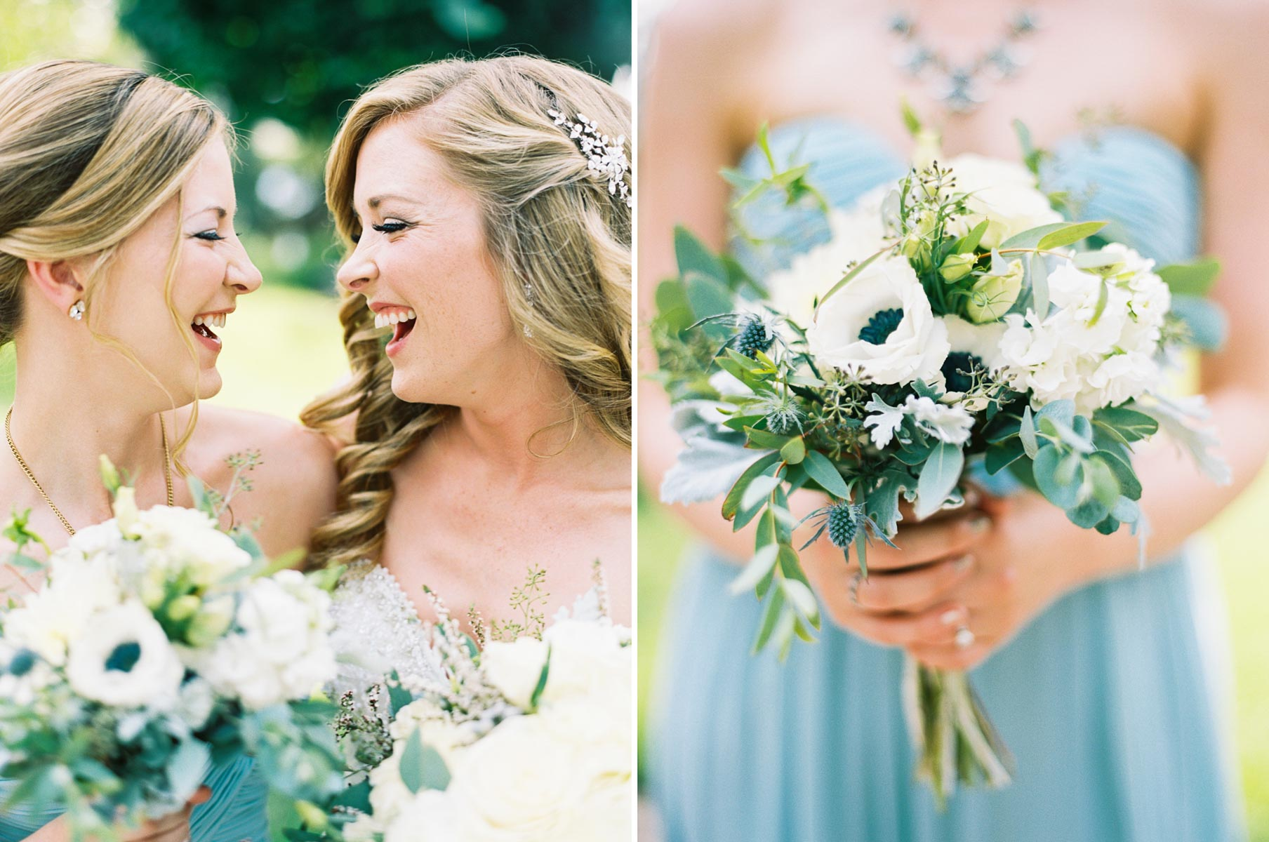 Candid moments at an elegant Arbor Crest Winery Wedding by Spokane Wedding Photographer Anna Peters
