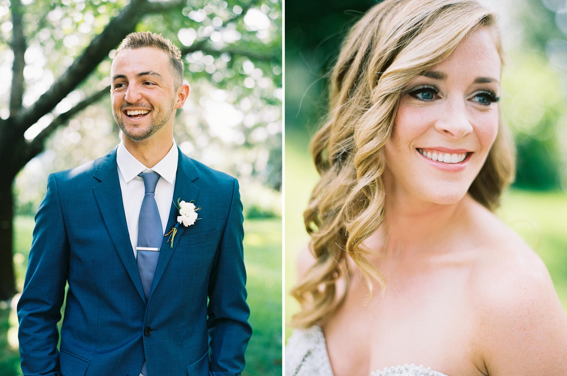 Bride and Groom photographed by Top Spokane Wedding photographer Anna Peters