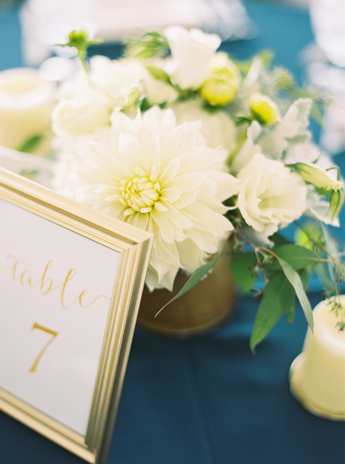 Reception Details an an Arbor Crest Winery Wedding