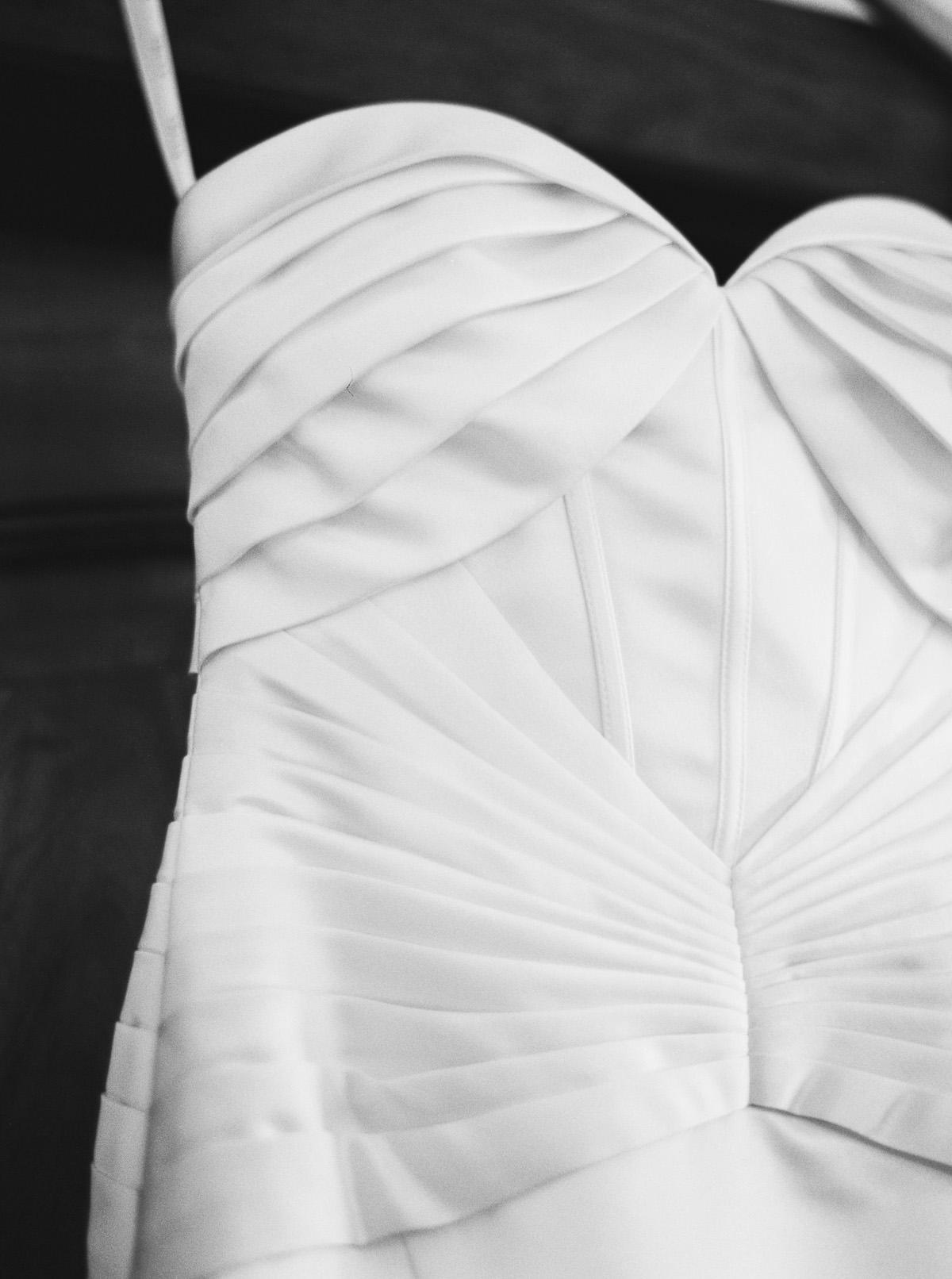 Zac Posen wedding gown captured by top Spokane Wedding Photographer Anna Peters