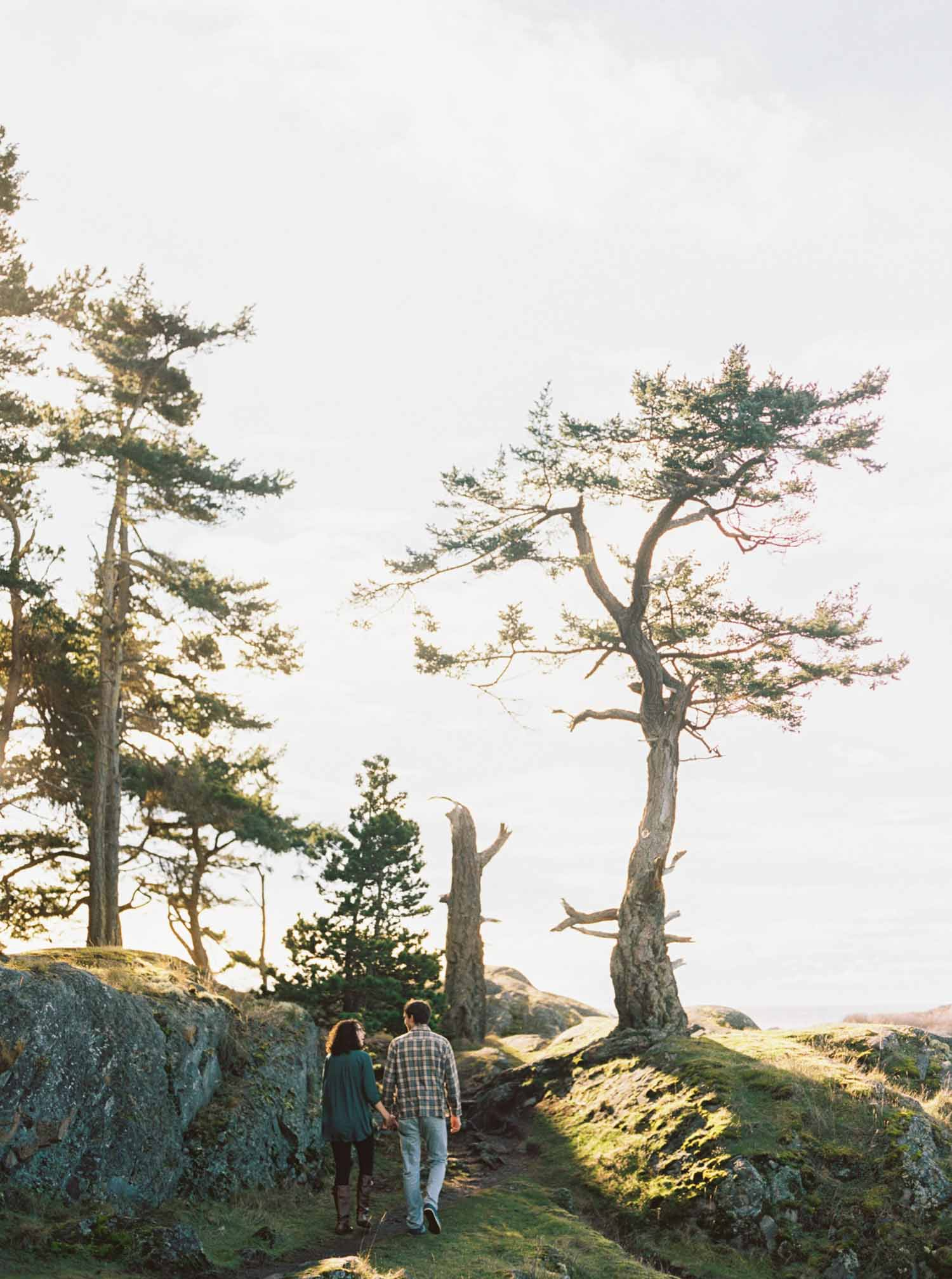 lopez island engagement session