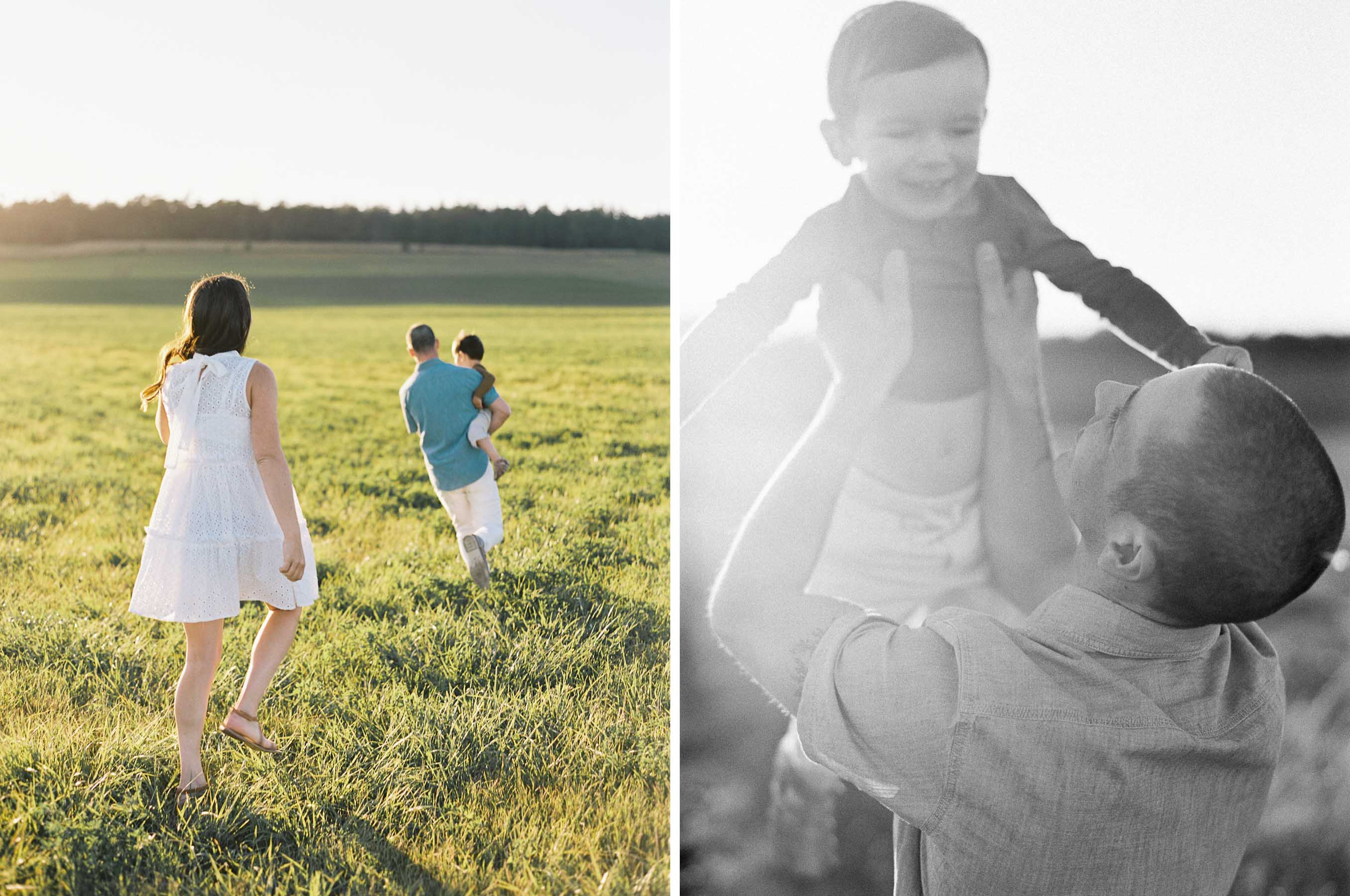 Elegant Whidbey Island Family Portraits by top fine art film photographer Anna Peters