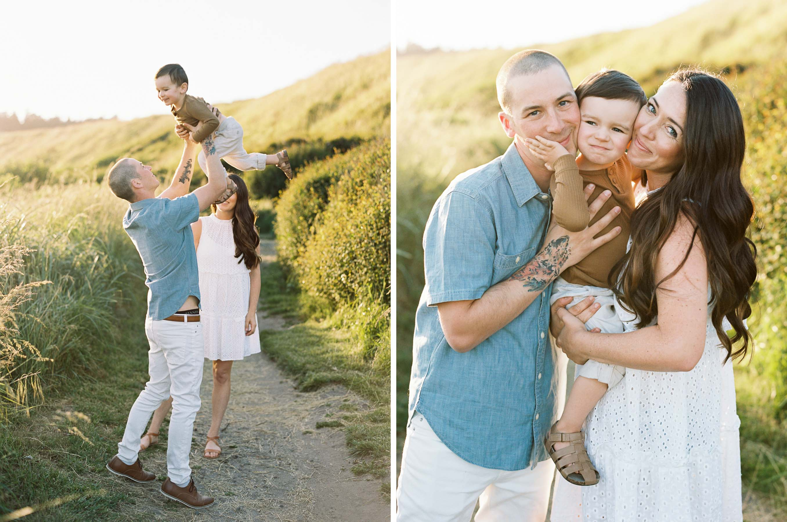 Fine art family photography captured on film by Anna Peters