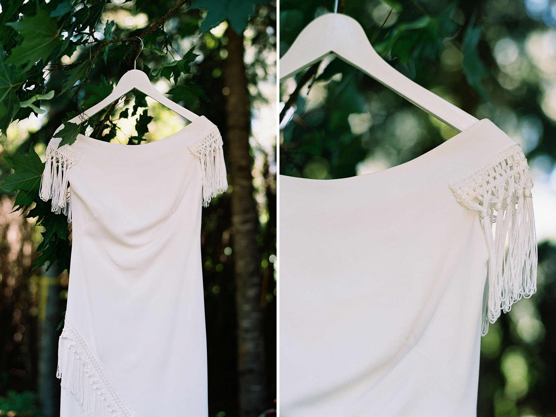 Rue De Seine Gown from The Dress Theory in Seattle captured on film by Leavenworth Wedding Photographer Anna Peters
